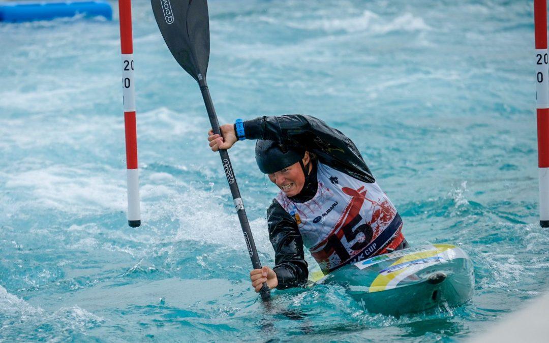 Florence Maheu qualifie le Canada en kayak féminin aux Jeux olympiques de Tokyo